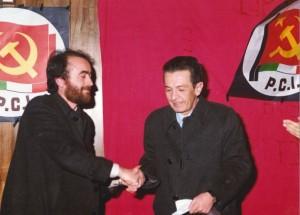 Enrico Berlinguer a Tito il 15 gennaio 1981 accolto da Alfonso Pascale