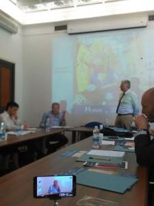 Angelo De Nicola, presidente di UPPI, e Augusto Pascucci, presidente di UNIAT, intervengono al Corso di Formazione sul Condominio di Strada