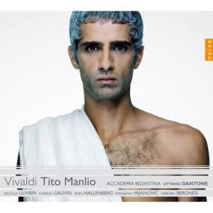 """Copertina dell'album dell'opera di Vivaldi """"Tito Manlio"""""""